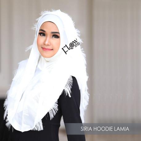 Siria Hoodie Lamia White