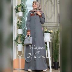 Velin Dress Grey