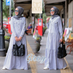 Zara Dress Grey
