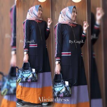 Alicia Dress Black