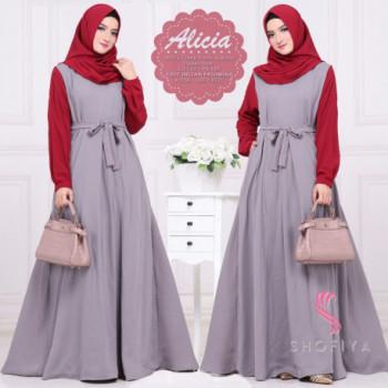 Alicia Grey Red