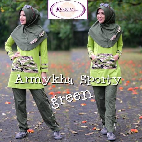 Armykha Sporty Green