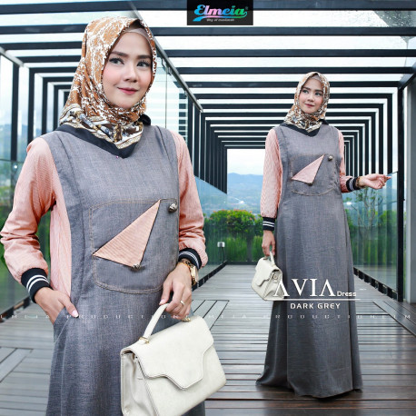 Avia Dress Dark Grey