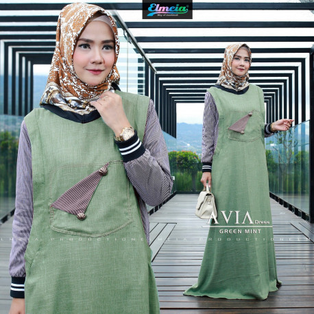 Avia Dress Green Mint