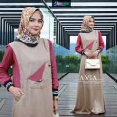 Avia Dress Khaki