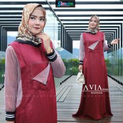 Avia Dress Maroon