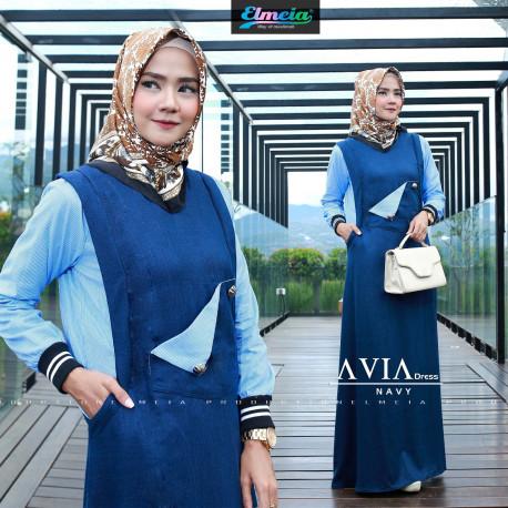 Avia Dress Navy