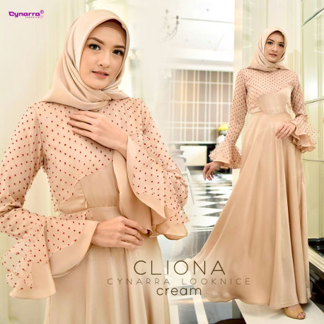 Cliona Dress Cream