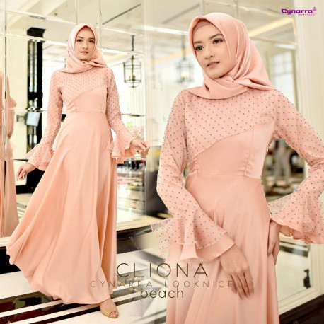 Cliona Dress Peach