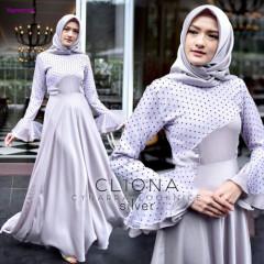 Cliona Dress Silver
