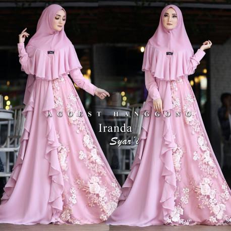 Iranda Syari Dusty Pink