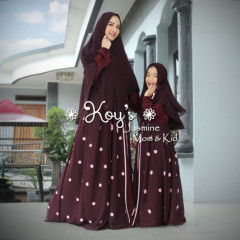 Jasmine Couple Maroon