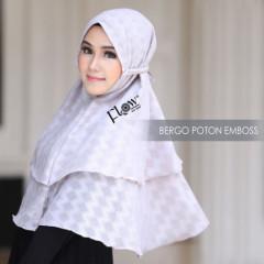 Jilbab Bergo Grey