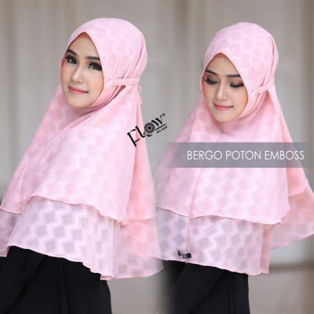 Jilbab Bergo Pink