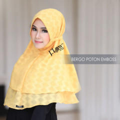 Jilbab Bergo Yellow