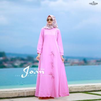 Joan Dress Dusty Pink