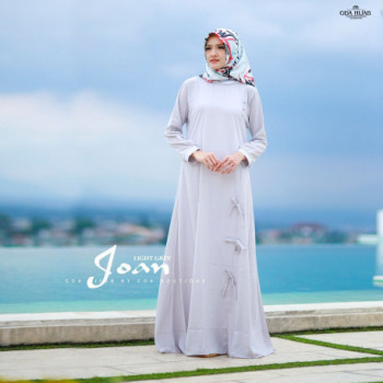 Joan Dress Light Grey