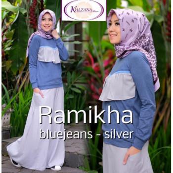 Ramikha Blue Jeans Silver