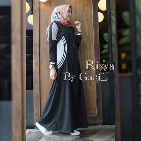 Risya Dress Black