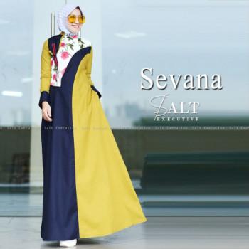 Sevana Navy Yellow