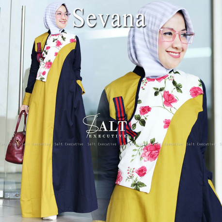 Sevana Yellow Navy