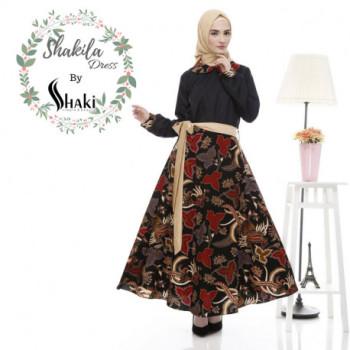 Shakila Dress Black
