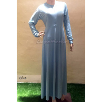Aisya Gamis Basic Blue