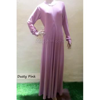 Aisya Gamis Basic Pink