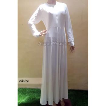 Aisya Gamis Basic White