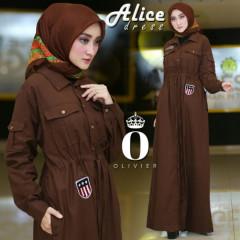 Alice Dress Choco