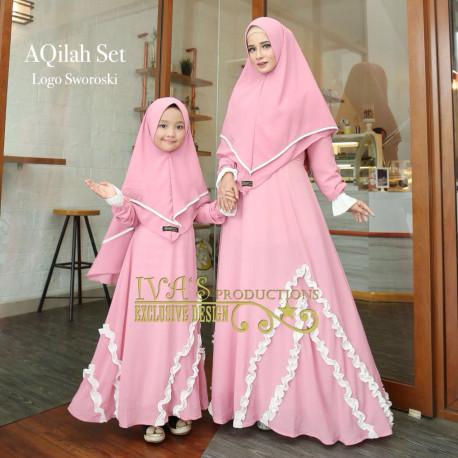 Aqilah Couple Pink