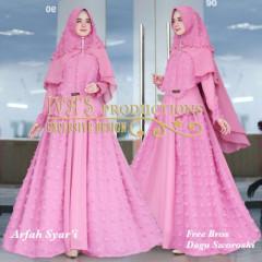 Arfah Syari Pink