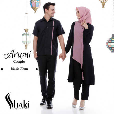 Arumi Couple Black Plum