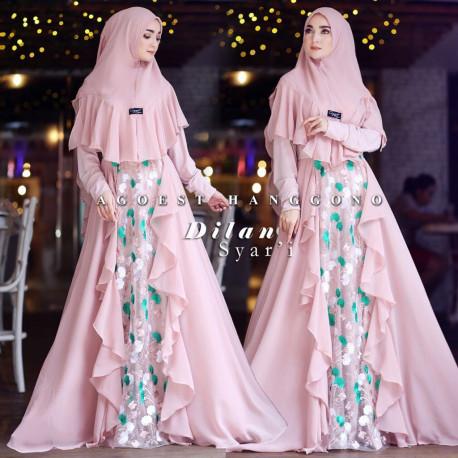 Dilan Syari Soft Pink