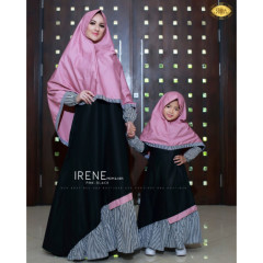 Irene Syari Pink Black