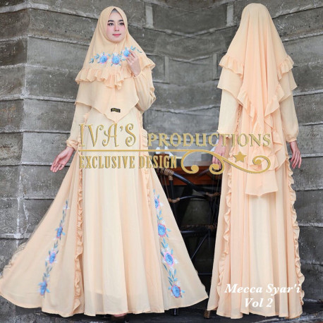 Mecca Syari Vol 2 Peach