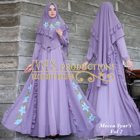 Mecca Syari Vol 2 Purple