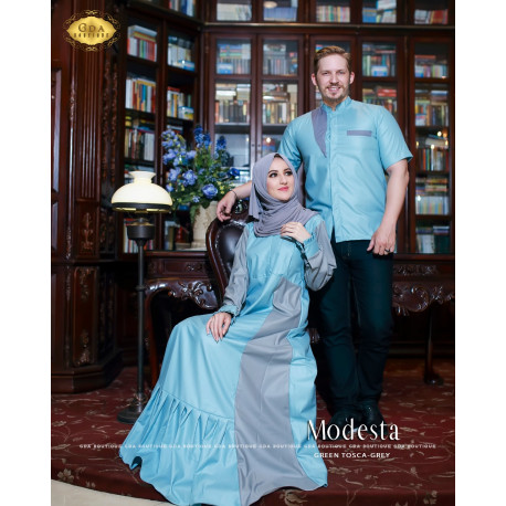 Modesta Couple Blue
