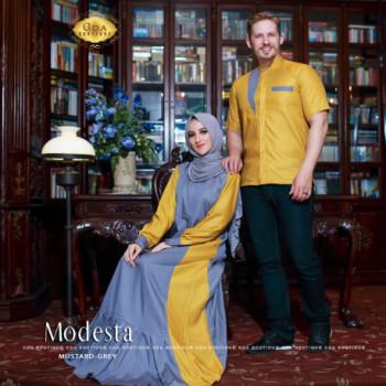 Modesta Couple Grey