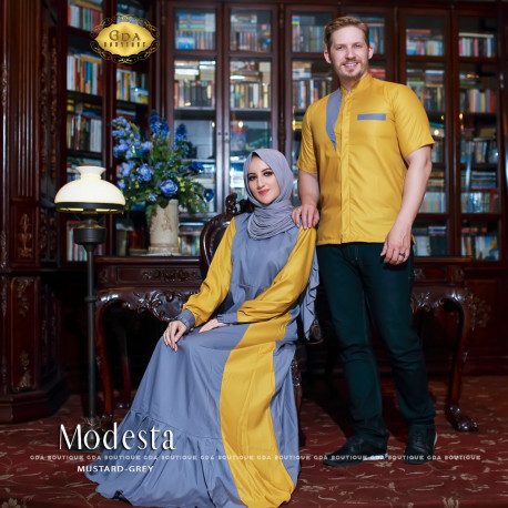 Modesta Couple Grey