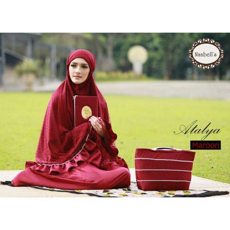 Mukena Atalya Red