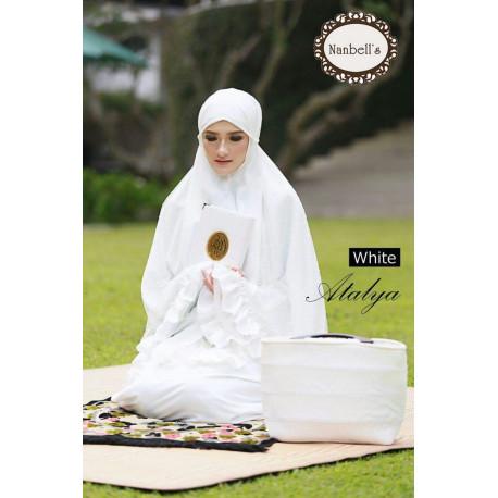 Mukena Atalya White
