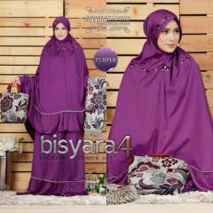 Mukena Bisyara Purple