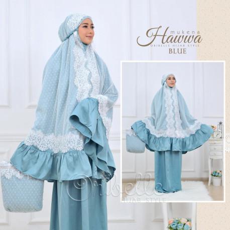 Mukena Hawwa Blue