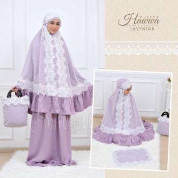 Mukena Hawwa Lavender