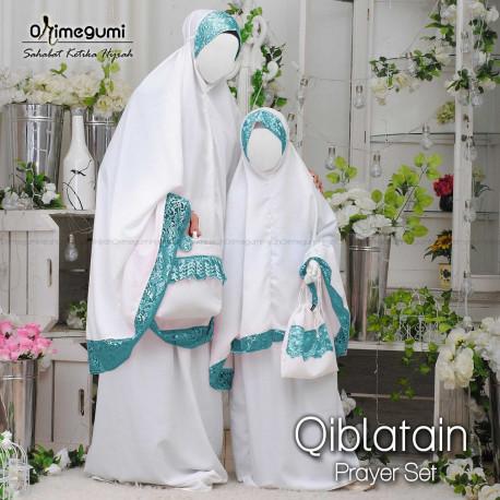 Mukena Qiblatain BW Tosca