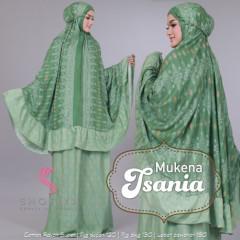 Mukena Tsania Green