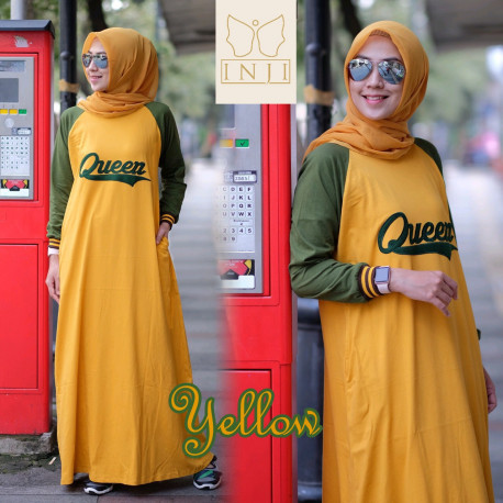 Queen Dress Yellow