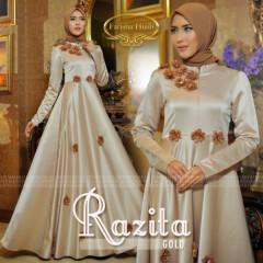 Razita Dress Gold