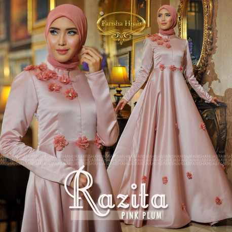 Razita Dress Plum
